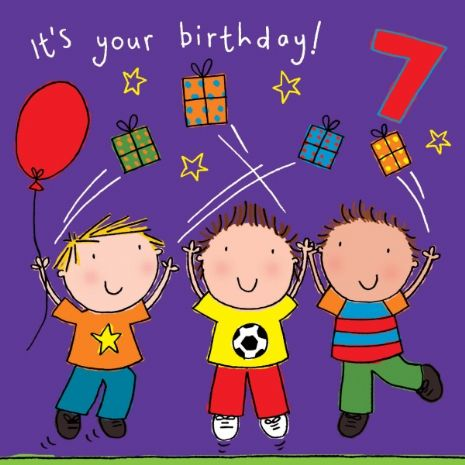 Kids Cards, Kids Birthday Cards
